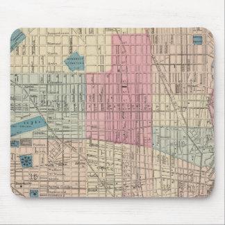 Philadelphia, Pennsylvania Map Mouse Mat