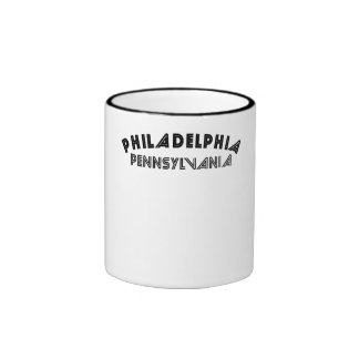 Philadelphia Pennsylvania Coffee Mugs