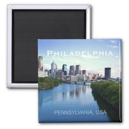 Philadelphia Pennsylvania Photo Souvenir Magnet