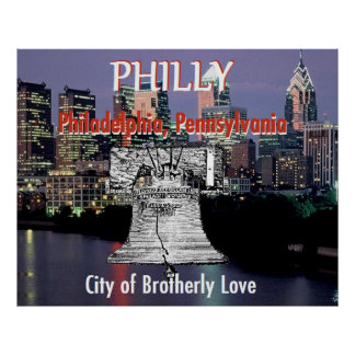Philadelphia Pennsylvania POSTER Print