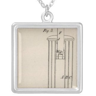 Philadelphia, Pennsylvania Silver Plated Necklace