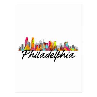 Philadelphia Pennsylvania Skyline Post Card