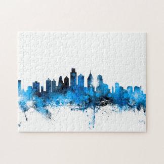 Philadelphia Pennsylvania Skyline Puzzle