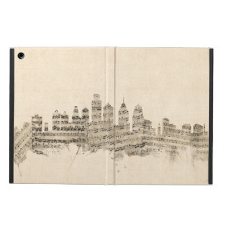 Philadelphia Pennsylvania Skyline Sheet Music City Case For iPad Air
