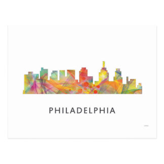 PHILADELPHIA PENNSYLVANIA SKYLINE WB1  - POSTCARD