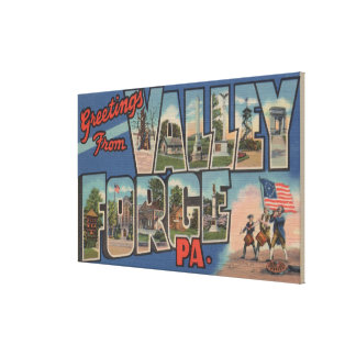 Philadelphia, Pennsylvania - Valley Forge Canvas Print