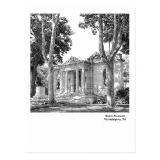 Philadelphia Postcard-Rodin Museum Postcard