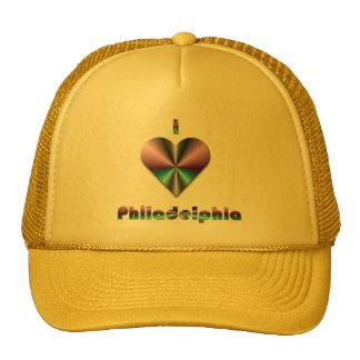 Philadelphia - Purple & Turquoise Trucker Hats