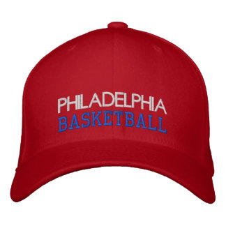 PHILADELPHIA Red Basketball Cap Baseball Cap