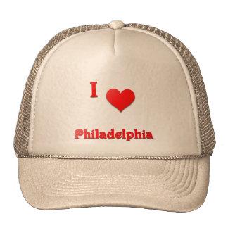 Philadelphia -- Red Trucker Hats