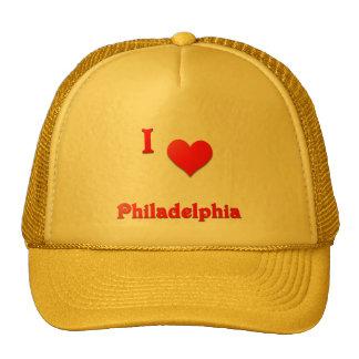 Philadelphia -- Red Trucker Hat
