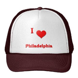 Philadelphia -- Red Mesh Hats