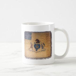 Philadelphia regimental flag basic white mug