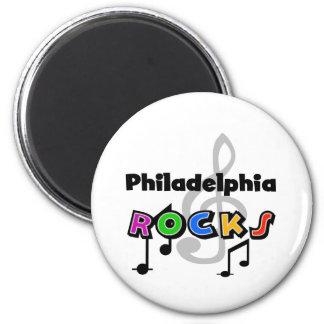 Philadelphia Rocks Magnet