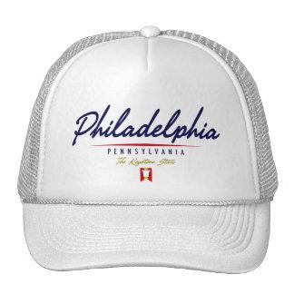 Philadelphia Script Cap