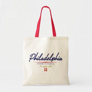 Philadelphia Script Tote Bag