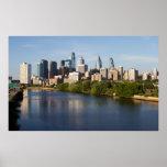 Philadelphia Skyline 1 Posters