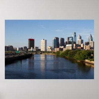 Philadelphia Skyline 3 Poster