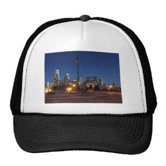Philadelphia Skyline at Dusk Trucker Hat