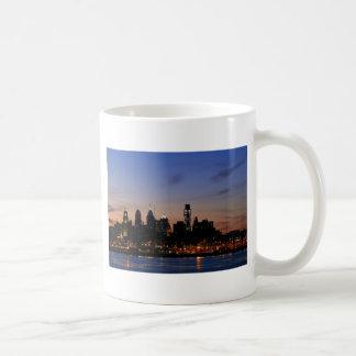 Philadelphia Skyline at Twilight Coffee Mug