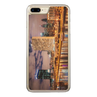 Philadelphia Skyline Carved iPhone 7 Plus Case