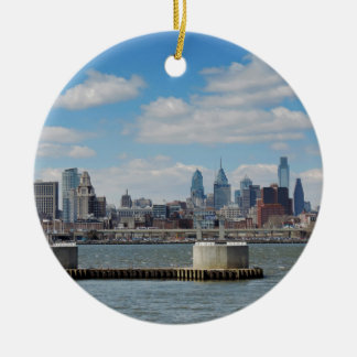 Philadelphia Skyline Christmas Ornament