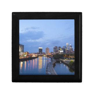 Philadelphia skyline gift box
