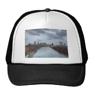 Philadelphia Skyline Mesh Hats