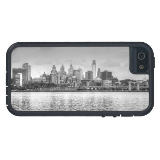 Philadelphia skyline in black and white iPhone 5 cases