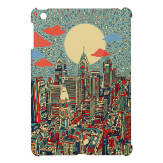 philadelphia skyline iPad mini cover