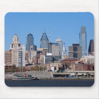 Philadelphia Skyline, Medium View Mouse Mat