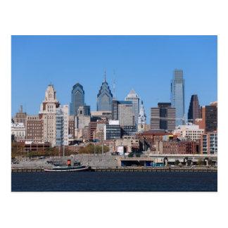 Philadelphia Skyline, Medium View Post Cards