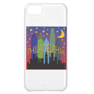 Philadelphia Skyline nightlife iPhone 5C Case