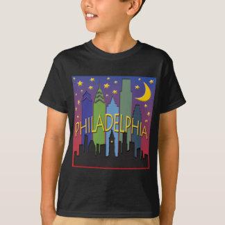 Philadelphia Skyline nightlife T-Shirt