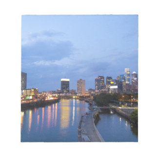 Philadelphia skyline notepad