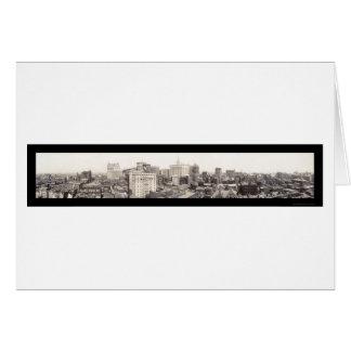 Philadelphia Skyline Photo 1913 Card