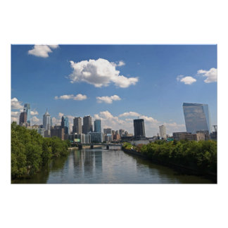 Philadelphia Skyline, Photo By: Joe Dantone Poster