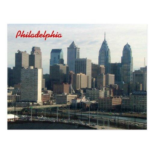 Philadelphia Skyline Postcards