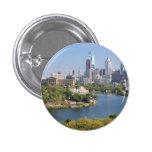 Philadelphia Skyline Standard Button