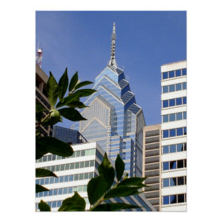 Philadelphia Skyscrapers - Pennsylvania Poster
