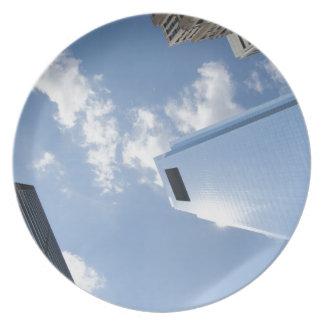 Philadelphia skyscrapers plate