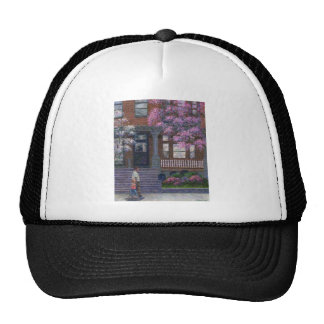 Philadelphia Street in Spring Trucker Hats