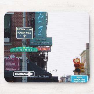 Philadelphia Street Mousepad
