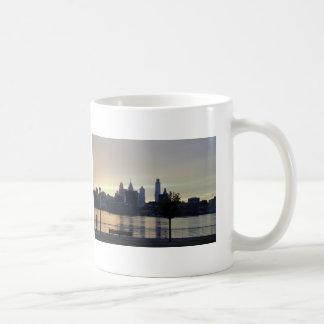 Philadelphia Sunset on the Delaware Coffee Mug