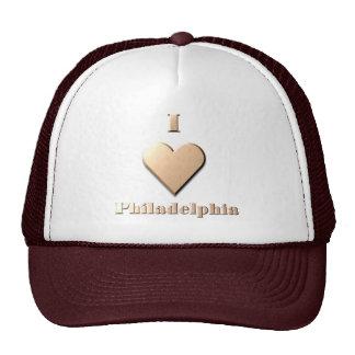 Philadelphia -- Tan Trucker Hats