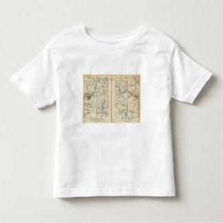 Philadelphia to New York Road Map 3 Toddler T-Shirt