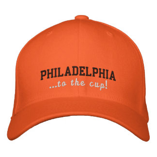 Philadelphia ... to the cup 2011 Playoffs Cap Embroidered Baseball Cap