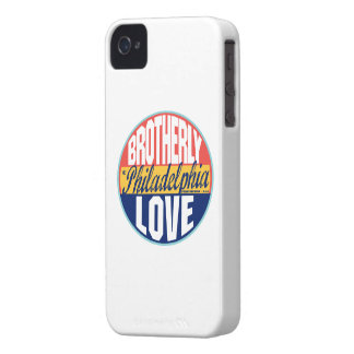 Philadelphia Vintage Label iPhone 4 Case