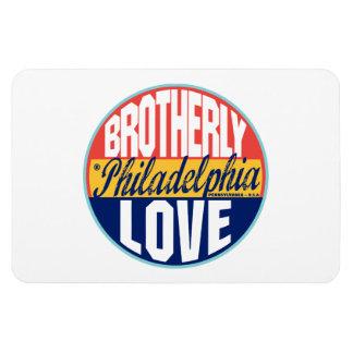 Philadelphia Vintage Label Magnet