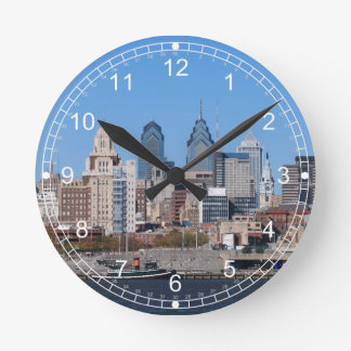 Philadelphia Wall Clock